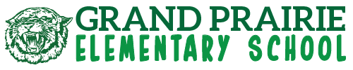 Grand Prairie Elementary School logo centered
